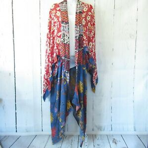 New-Umgee-Duster-Kimono-Cardigan-XL-XXL-Floral-Mixed-Boho-Peasant-Plus-Size