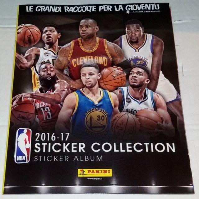 NBA Basketball 2016-2017 Álbum Vacío Panini