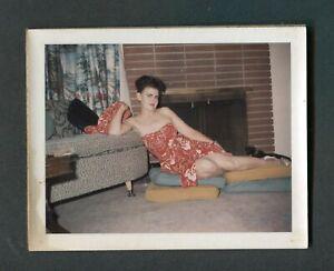 Items similar to Amazing Old Vintage Mature Sexy Polaroid