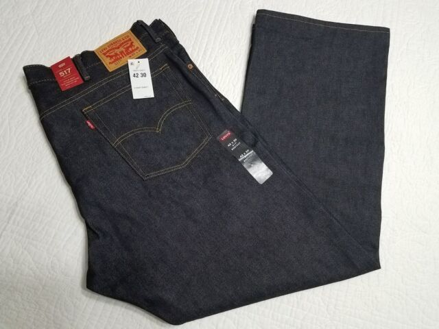 10b739df834 NEW LEVIS MENS 517 BOOTCUT DARK BLUE DENIM JEANS MANY SIZES AVAILABLE