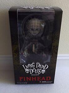 Nouveau Dans une boîte scellée Mezco Toyz Living Dead Dolls Figure avec tête d'épingle Hellraiser Miramax