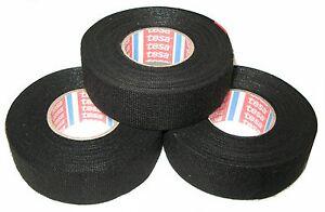 Tesa Car Fabric Tape with Fleece 51608 9mm X 25m Adhesive Vat New