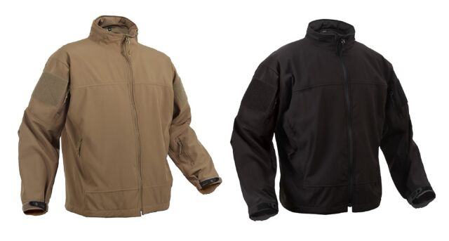 Covert Ops Light Weight Soft Shell Jacket Tactical Waterproof Lightweight Coat