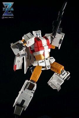 New Zeta toys Transformers ZB-03 Kronos Silver Arro Silverbolt Superion In Stock
