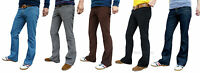 Bootcut Mens Cords Denim Flares 60's 70's Vtg Hippie Jeans Indie Pants Trousers