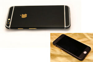 best authentic c9105 7eacf Details about iPhone 6 6S Plus Matte Black Full Body Skin 3M Scotchprint  1080 Multiple Colors
