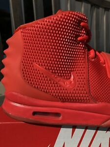 9ce142794eef2 Image is loading Nike-Air-Yeezy-2-Red-October-Size-11