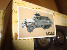 G-SCALE 1/32 SCALE ARMY M3A2 A-A Half Track For LGB, USA, Bachmann Flat Car Load