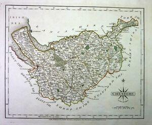 Antique-map-Cheshire