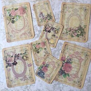 Vintage-card-Toppers-Cardmaking-parti-balises-Craft