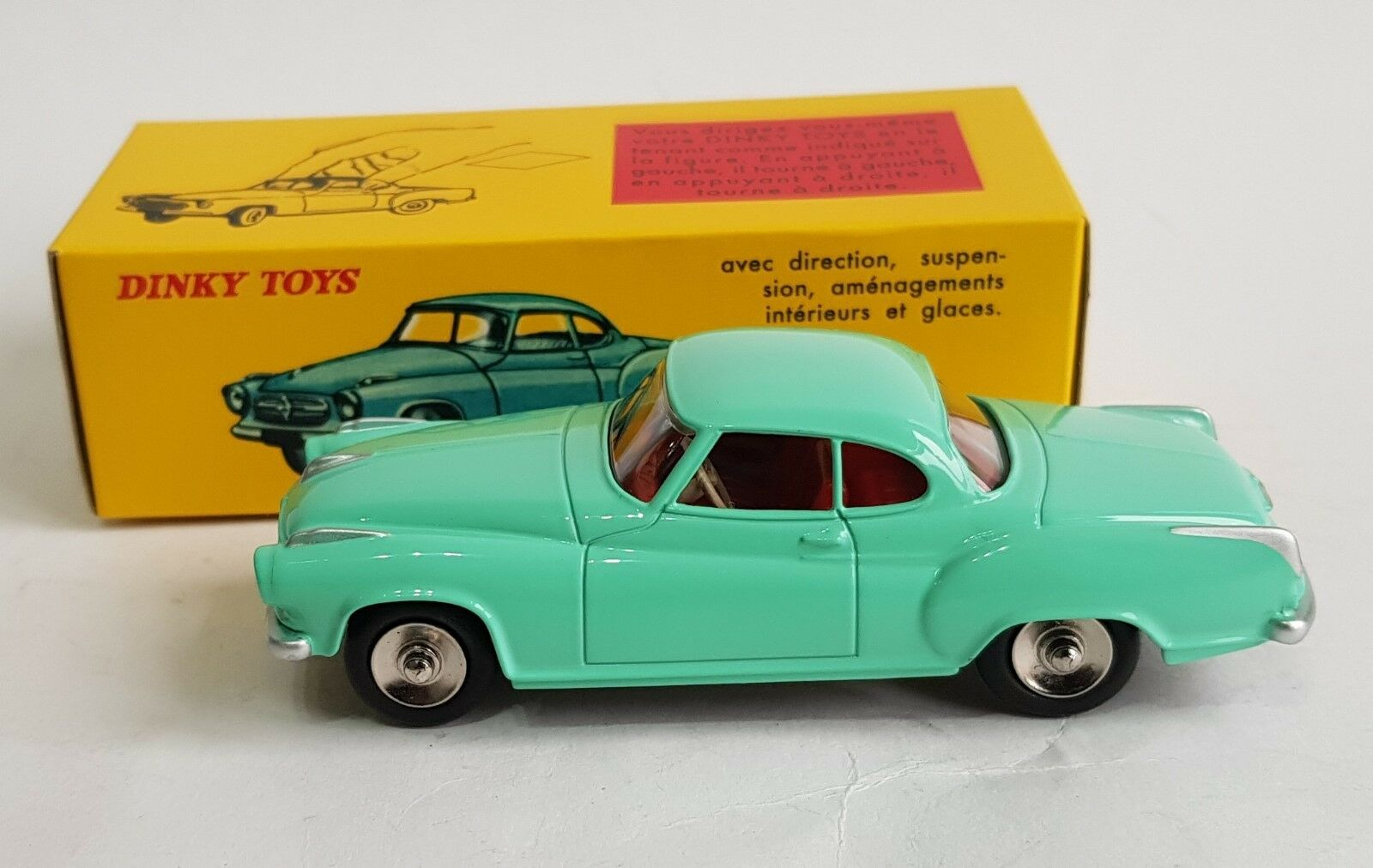 DeAgostini   Dinky Toys No. 549, Coupe Borgward 'Isabella' - Superb Mint.