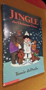 Jingle-the-Christmas-Clown-by-Tomie-dePaola-PB-1993-Childrens-Book
