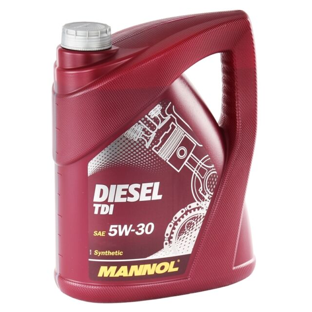 5W-30 Motoröl 5 Liter Mannol Diesel TDI 5W-30 5L API SN CF BMWLL-04 MB 229.51 VW