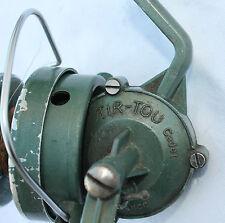 ancien moulinet de pêche  marque  tir-tou cadet made in France