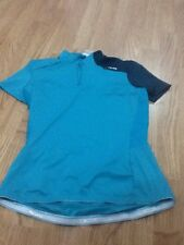 Women's Green Btwin Decathlon X Small Warm Rainy Cycling Top - Brand New & Tags