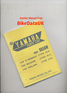 Yamaha-RD50M-1978-gt-Genuine-Parts-List-Catalogue-Book-RD-50-M-2L8-Moped-BP95