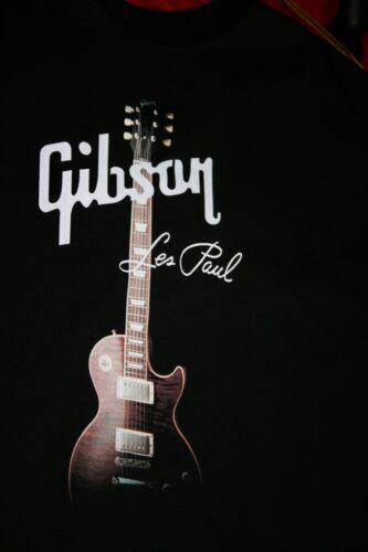GIBSON GUITAR~ Les Paul~T-Shirt Nice Quality Shirt Great Gift~ Actual XL New