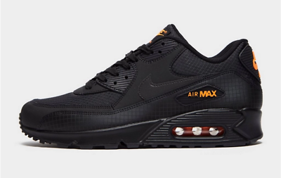 Nike Air Max 90 Mens Trainers UK Size 6 11 12 Black Orange