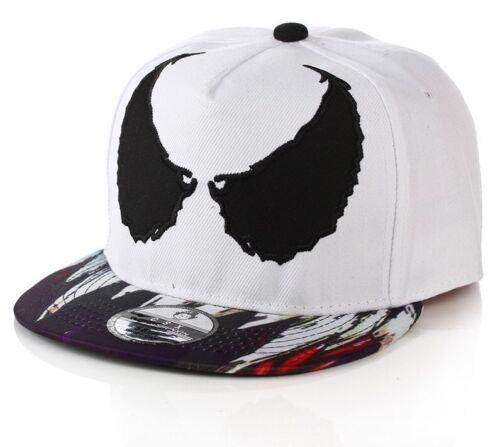 Marvel Venom Casquette De Baseball Réglable Soleil Protecteur d/'été blanc