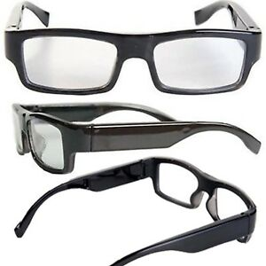 976c326803 INVISIBLE SPY VIDEO GLASSES FULL HD 1080p 5MP CAMERA DVR RECORDER ...