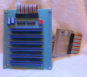 Cardco-6-slot-Expansion-Interface-for-the-Commodore-VIC-20-with-manual-and-box