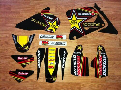 Suzuki RM 85 2002-2018 Dirt Bike Graphics Kit Motocross Decals  RS Enjoy MFG