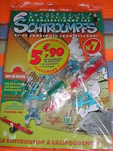 SCHTROUMPFS-SCHTROUMPF-CALIFOURCHON-Construis-village-LIVRET-n-7-NEUF