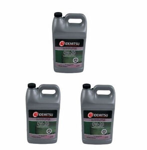 3 Gallons Pack Idemitsu 0w20 Synthetic Engine Motor Oil