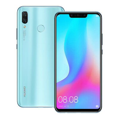 """NEW Huawei nova 3 (PAR-LX9) 6.3"""" 6GB / 128GB 4 Cameras LTE Dual SIM UNLOCKED"""