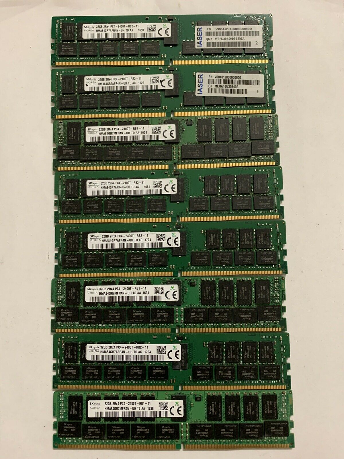 SK Hynix 32GB 2Rx4 PC4-2400T DDR4 HMA84GR7MFR4N-UH Server RAM. Buy it now for 79.00
