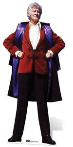 Sc-566 Dr. Who Jon Pertwee Hauteur Ca.189cm Présentoir En Carton Taille Réelle