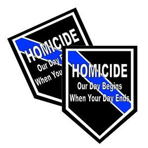 Thin Blue Line North Carolina Seal Decals Pack Of Two