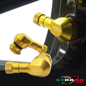 "Strada 7 83 Degree 11.3mm 0.445/"" inch CNC Valve Stems Honda CB600F CB650F Black"