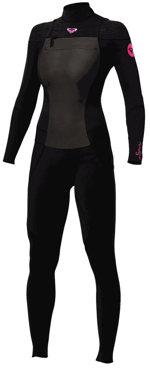 Roxy Syncro 3 2 GBS Wetsuit  Chest Zip - women's size 14 - new NWT  comfortable