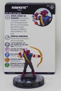 HeroClix Avengers Infinity 004 Hawkeye