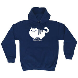 Funny-Novelty-Hoodie-Hoody-hooded-Top-Cat-Enthusiast