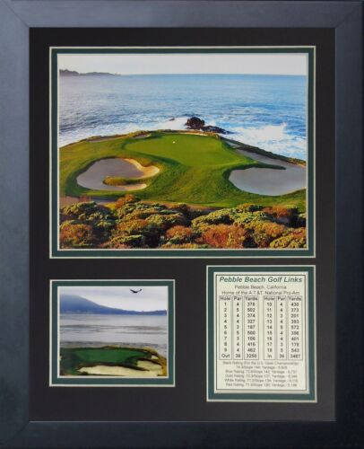 11x14 Framed Pebble Beach Golf Course Links Hole #7 8x10 Photo | eBay