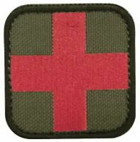 Condor - Medic First Aid Patch - O.d. Green ( 6 Pack )