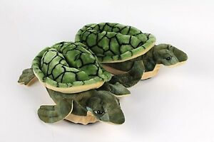 6188fa7d15a Image is loading Turtle-Slippers-Green-Animal-Slippers-Adult-amp-Kids-