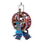 "2009 Retro Style Tin Penny Toy Working Park Ferris Wheel Schylling 3.5"" Ornament"