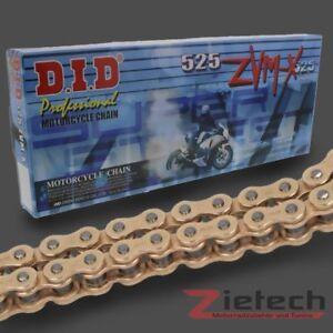 102 Glieder X-Ring gold endlos DID Kette 530 VX