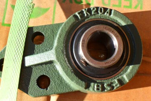 "3-Bolt Flange Bearing UCFK 204-12  3//4/"" Bore  w zerk  2 set screws by  FSB"