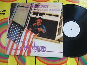 JIMI HENDRIX Last American Concert Maui Hawaii ORIGINAL  LP