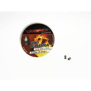 500-Pallini-piombini-libera-vendita-Cobra-Testa-Punta-Umarex-Calibro-4-5-mm-0