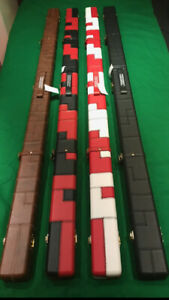 SNOOKER-POOL-1-PIECE-CUE-CASE-VARIOUS-COLOURS-FREE-1-2-DAY-DELIVERY