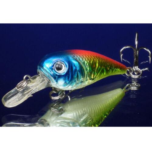 Zanderwobbler Wobbler Owner-Haken 6 cm Forellenwobbler Spinnfischen Raubfisch