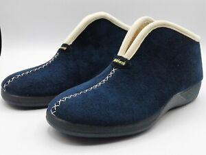 Slippers - Ladies - DeValverde 9709/9109 Marino (Navy)