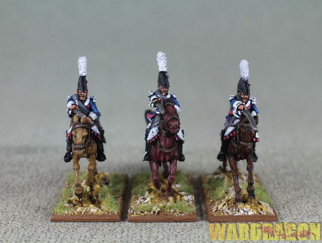 Napoleonic WDS painted Dutch Belgians DB29 Dutch Carabiniers charging r5