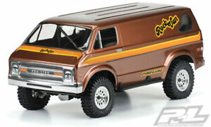 "Pro-Line 3552-00 '70s Rock Van Clear Body, for 12.3"" (313mm) Wheelbase Crawlers"