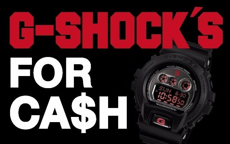 ***WANTED*** Casio G-Shocks, New, Old, Vintage - Cash Paid for Digital Gshocks Gshock Watches